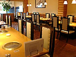 韓食苑 恭楽亭 - 内観写真:70人規模の宴会も受付!お座敷も有。