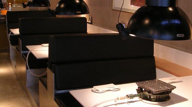 巨牛荘 - 内観写真:ボックスシート席