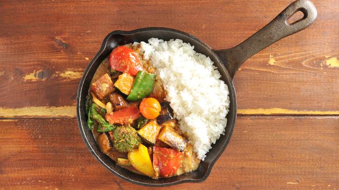 野菜を食べるカレーcamp - メイン写真: