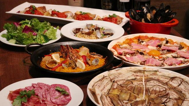 ピッツェリアラウンジソル - 料理写真:宴会4名様イメージ