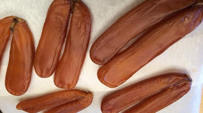 神楽坂ささ木 - 料理写真:自家製からすみ