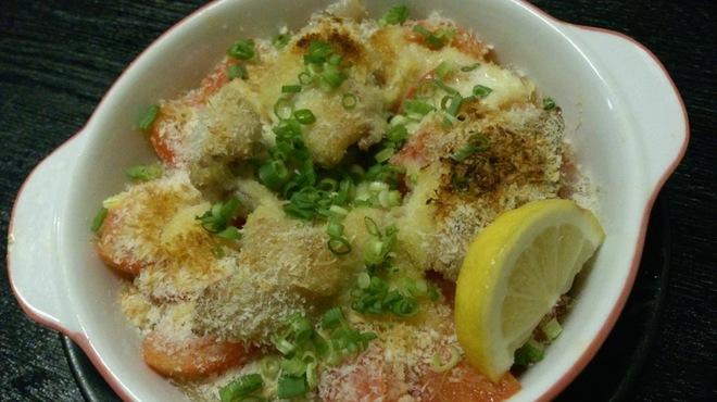 北陸旬鮮 北の旬 - 料理写真:鮮魚とトマトの重ね焼き