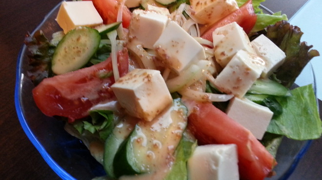 がちまや~ - 料理写真:新鮮取り立てサラダ(ごま)