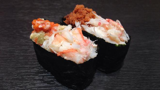 金沢まいもん寿司 - 料理写真:ずわいがにのメス『香箱かに』