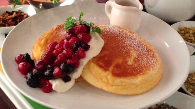 ルサーク - 料理写真:オリジナルパンケーキ