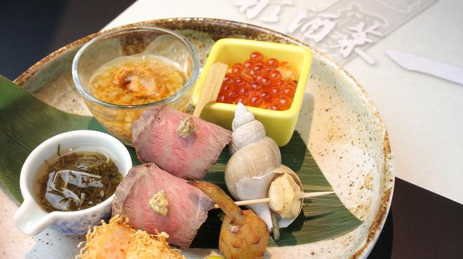 山形酒菜一 - 料理写真:本日のおまかせ八寸