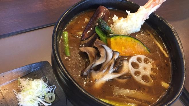 蕎麦さとやま - 料理写真:カレー南蛮【さとやまスペシャル】