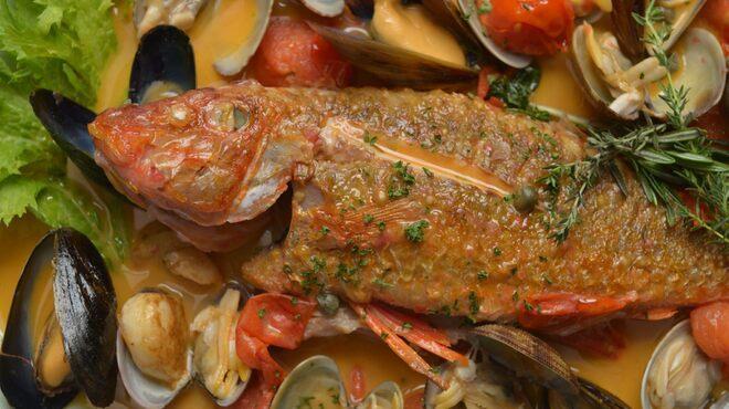 駒沢食堂 george - 料理写真:直送鮮魚のアクアパッツァ