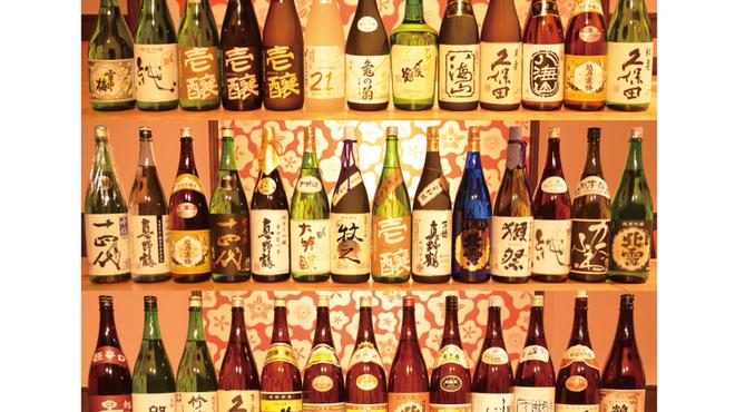 権十楼 - 料理写真:日本酒を多数取り揃えております。