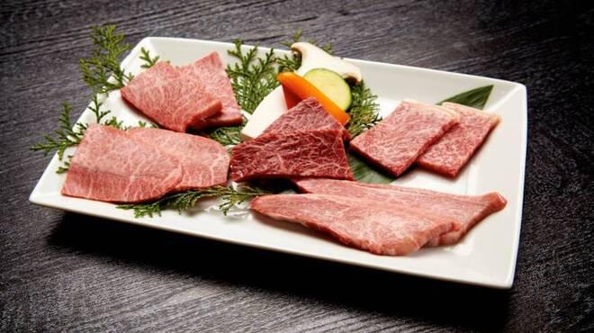 焼肉チャンピオン - 料理写真:希少部位を食べ比べるならコースがおススメです。