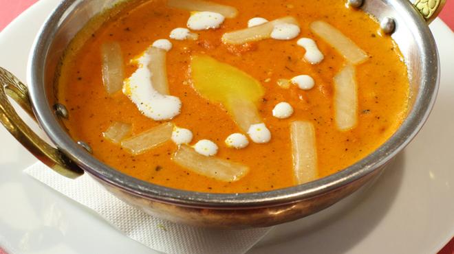 インドレストラン ガンジス - 料理写真:バターチキンカレー
