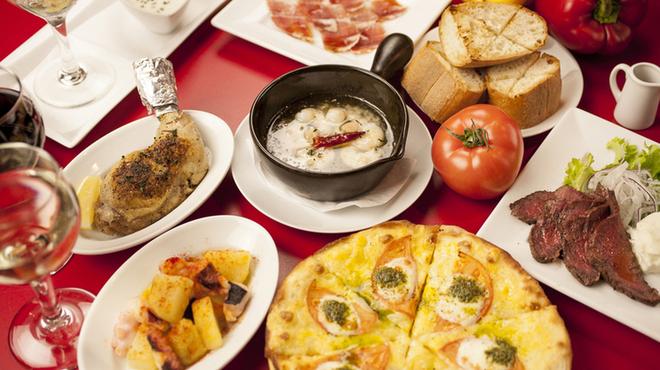 Spanish Bar Pasion - 料理写真:380円だから少しずついろんな味を楽しんでください♪