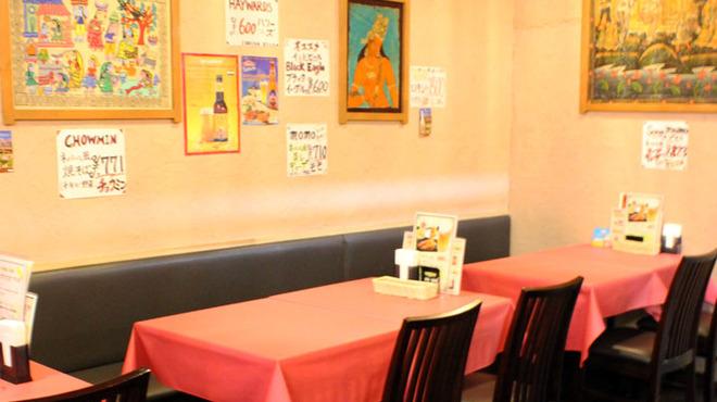 インドレストラン ガンジス - 内観写真: