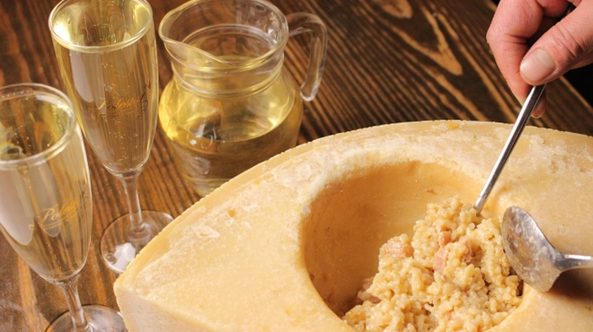 純風 - メイン写真:純風名物玄米DEチーズリゾット (2)