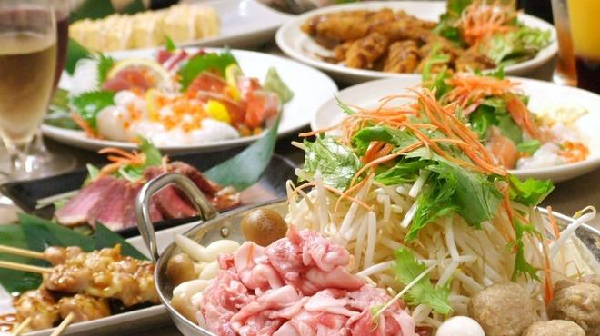 銀座個室居酒屋 柚柚 - 料理写真:コースでもゆず料理がお楽しみ頂けます。