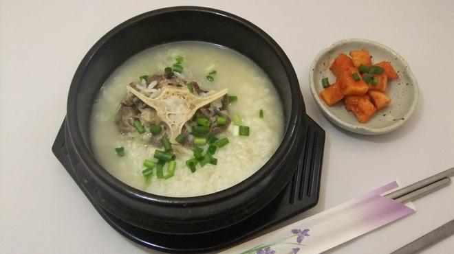 麦庵 - 料理写真:テールグッパ