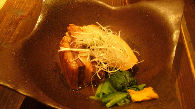 海神 - 料理写真:ラフテー(やわらかくて口の中でとろけます!!)