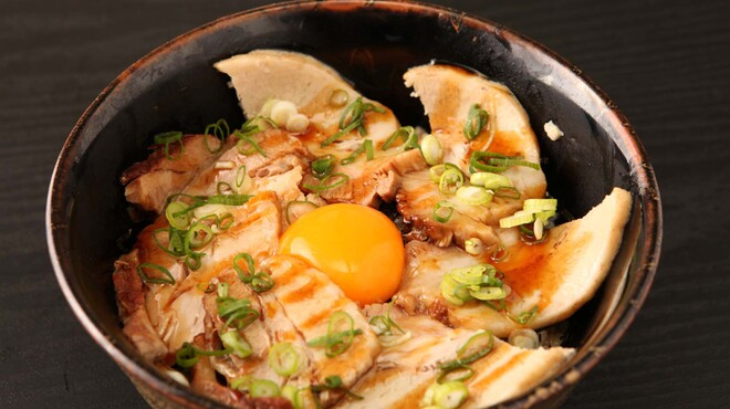 遊楽 山zaki - 料理写真:チャーシュー丼