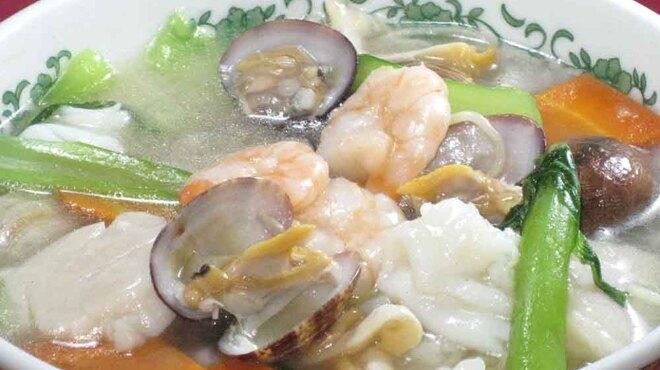 中国料理 白鳳 - 料理写真:海鮮たっぷり塩味そば