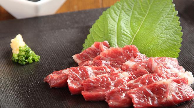 韓国旬菜ハル - 料理写真:鮮度抜群!熊本直送! 『究極の馬刺し』