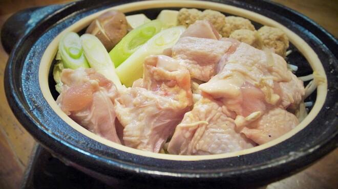 鳥庵 ばん吉 - 料理写真:冬限定の鶏鍋はじまりました!写真は2人前です。