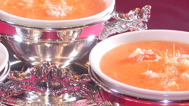 中国料理 白鳳 - 料理写真:6種類のコース料理は全て上質なフカヒレスープ付