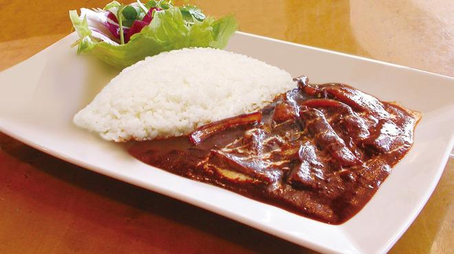 文明堂 カフェ - 料理写真:銀座文明堂のハヤシライス