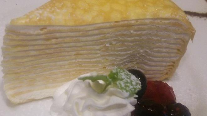 アカリ カフェ - 料理写真:ミルクレープ