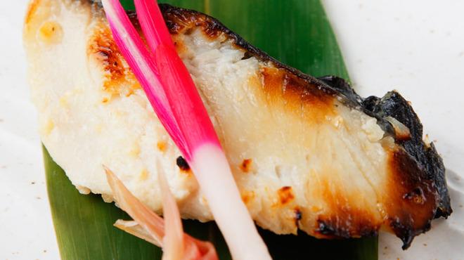 澄仙 - 料理写真:自家製銀鱈の西京焼き
