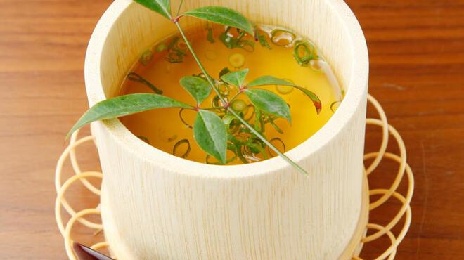 澄仙 - 料理写真:澄仙豆腐