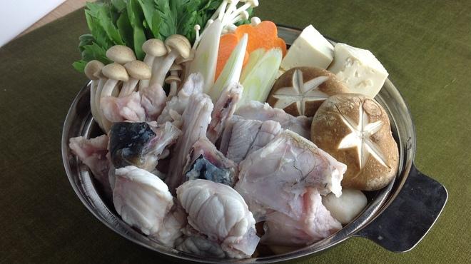 長州屋 - 料理写真:本場山口下関のふぐちり鍋