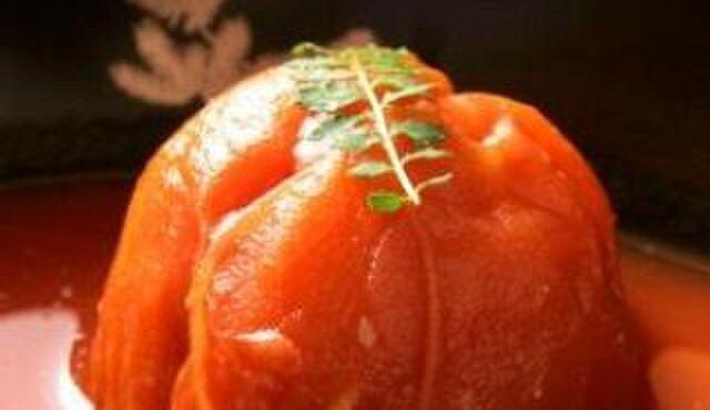 蔵人厨 ねのひ - 料理写真:完熟冷しとまと煮