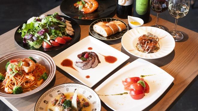 サンドグラスカフェ - その他写真:贅沢チーズフォンデュコース