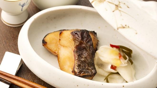 紺青 - 料理写真:さっぱりとした味わいが絶品な『鱈の幽庵焼き』