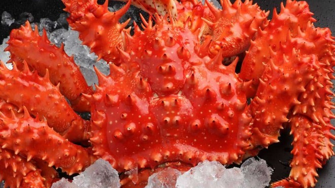 海鮮個室居酒屋 魚久 - 料理写真:人気の花咲蟹♪