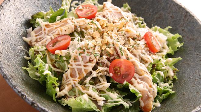 ももたろう - 料理写真:ささ身のカルパッチョ サラダ仕立て