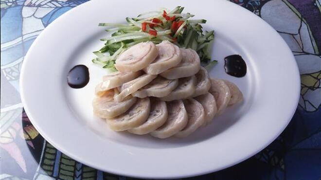 御膳房 - 料理写真:くるみの鶏肉巻き 980円