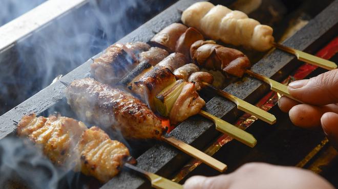 YAKITORI燃WEST - 料理写真:炭火焼鳥