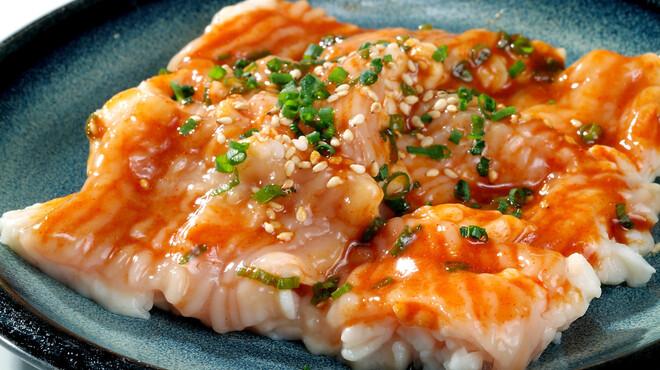 陽山道 - 料理写真:ぷりっぷりの肉厚      とろホルモン。