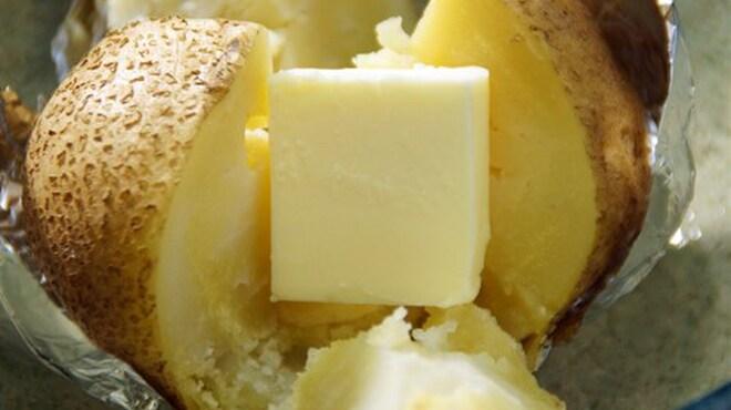 どさんこかに食堂 - 料理写真:じゃがいもバター