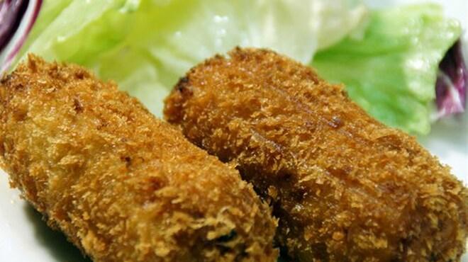 どさんこかに食堂 - 料理写真:蟹クリームコロッケ