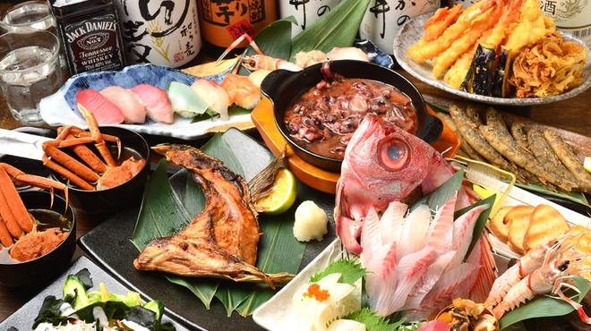 魚ずみ - 料理写真:〜肉と海鮮〜個室居酒屋   魚ずみ