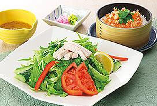 サガミ - 料理写真:彩り野菜のHoneyマスタードうどん お好みランチ…970円+税