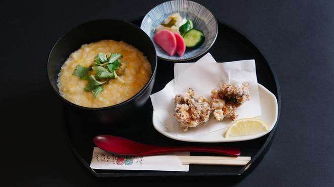 巣鴨三浦屋 - 料理写真:すっぽんから揚げ付雑炊セット