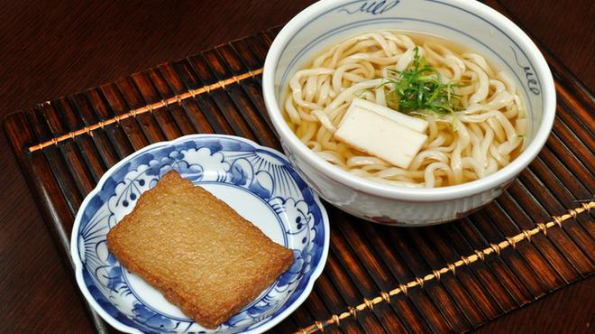 隠れ岩松 - 料理写真:長崎丸天うどん・じゃこ(温冷選べます)