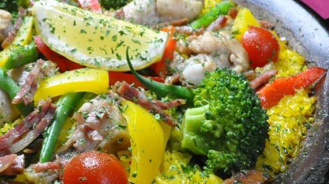 フラミンゴ - 料理写真:パエリア