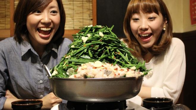 もつ鍋専門店 元祖 もつ鍋 楽天地 - 料理写真: