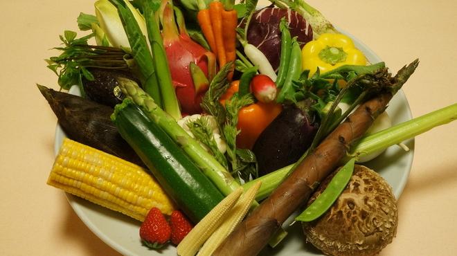 海鮮問屋 博多 - 料理写真:新鮮野菜!
