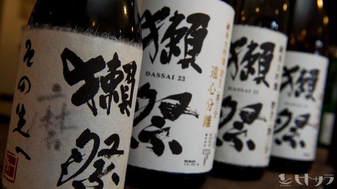 長州屋 - 料理写真:山口の地酒が勢揃い!
