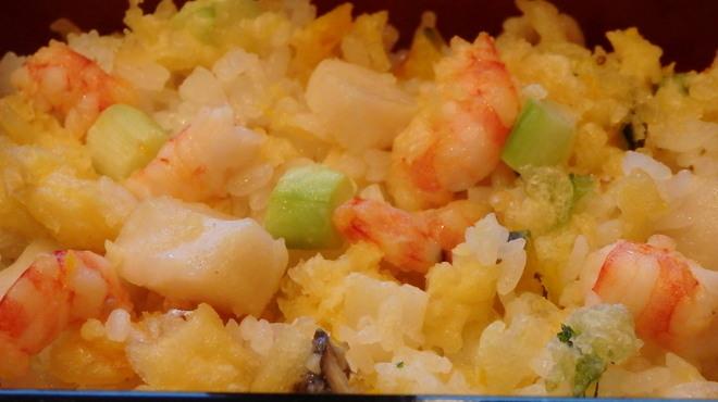 天政 - 料理写真:てんばらちらし御飯